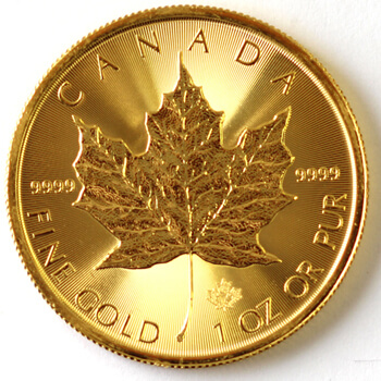 1oz Maple Leaf 2016