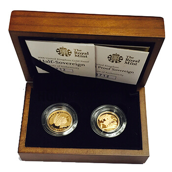 Gold Sovereign Box Set ( & Half)