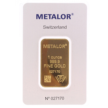 Full 1oz Gold Bar