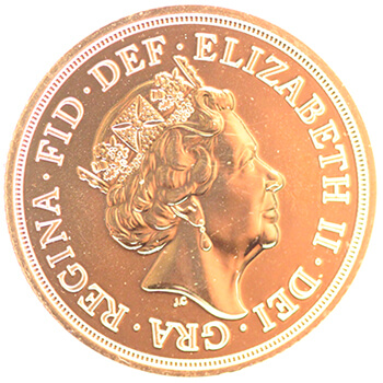 NEW Gold Full Sovereign 2017