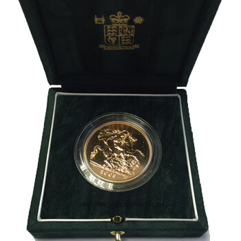 Gold Sovereign Two Pound Proof