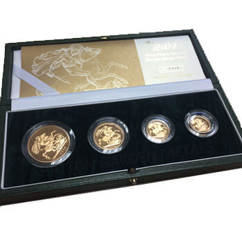 Gold Sovereign 4 Box Set