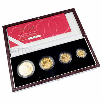 Gold Britannia 4 Box Set