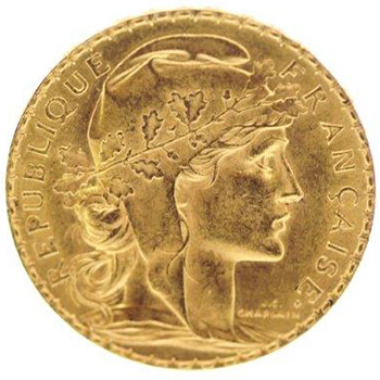 French 20 Franc Gold