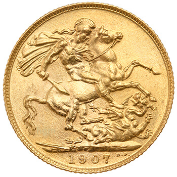 Gold Sovereign - Edward VII