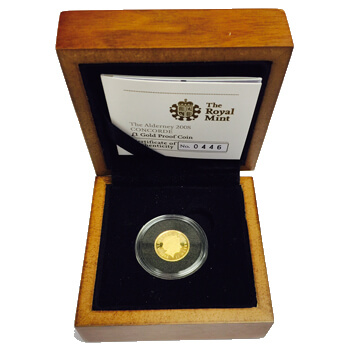 Alderney £1 Gold Coin
