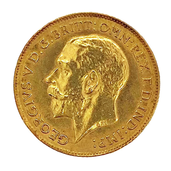 Half Sovereign - George V 1911 London