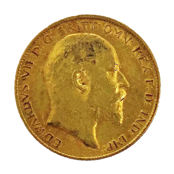 Half Sovereign - Edward VII 1905 London