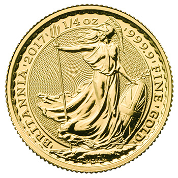 Quarter Oz Britannia Gold Coin