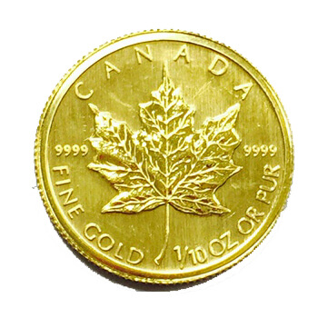 1/10oz Gold Maple Leaf