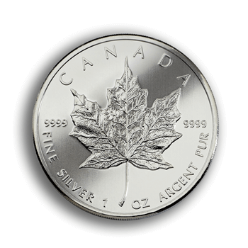 1oz Silver Canadian Maple Leaf Coin