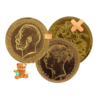 Low Grade Gold Sovereign