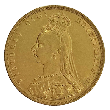 Gold Sovereign - Victoria Jubilee Head 1890 London