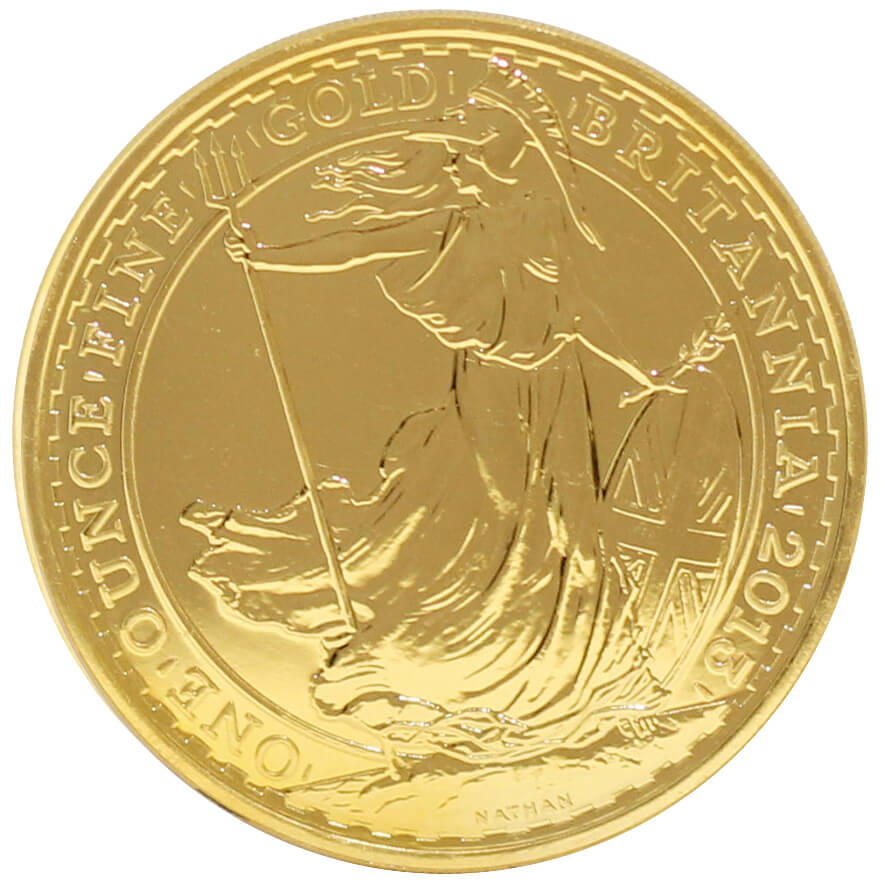 Full 1oz Gold Britannia-24ct Version