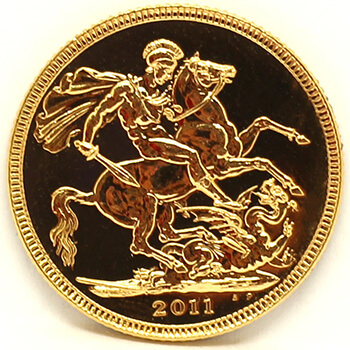Gold Full Sovereign - 2011