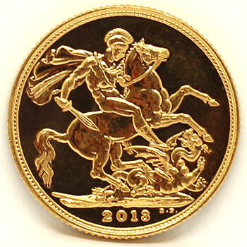 Gold Full Sovereign - 2013