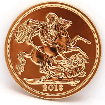 Gold Full Sovereign 2018