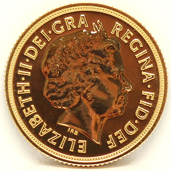 Gold Sovereign - 2014