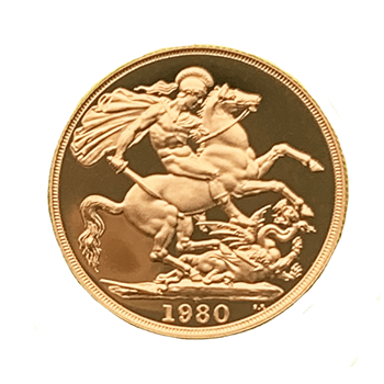 Gold Sovereign Two Pound