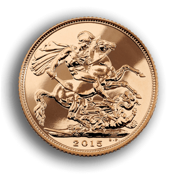 Gold Sovereign 2015