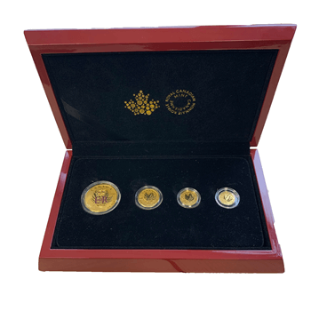 Commerative 4 Coin Maple set