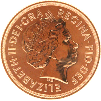 Gold Full Sovereign - 2012