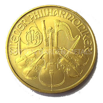 1/2oz Gold Philharmonika