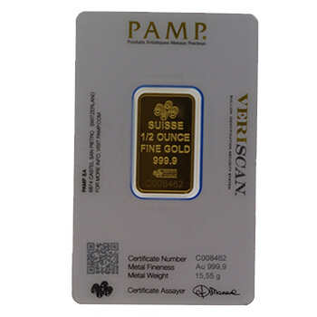 Investment Bar - 1/2 ounce