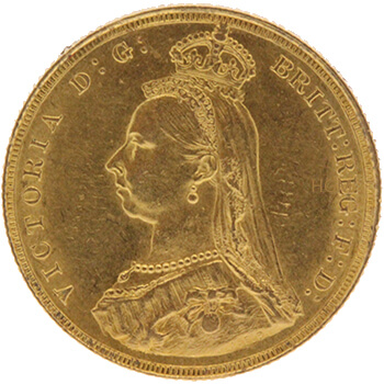 Gold Full Sovereign - Victoria - Jubilee Head