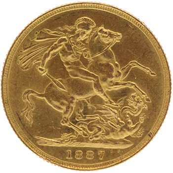 Gold Sovereign - Victoria Young Head