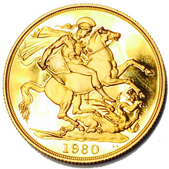 Gold Two Pound Double Sovereign