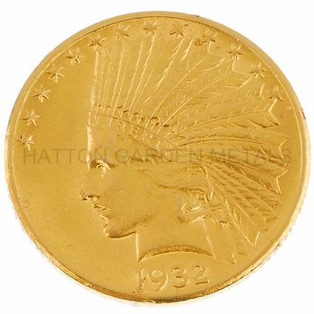 $10 Eagle Indian Head Gold