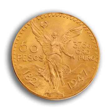 Mexican 50 Peso Gold Coin