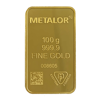 Best Value 100g Gold Bar Metalor