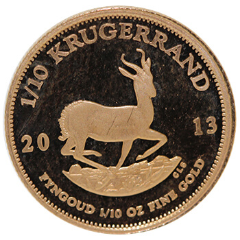 Tenth Oz Gold Krugerrand