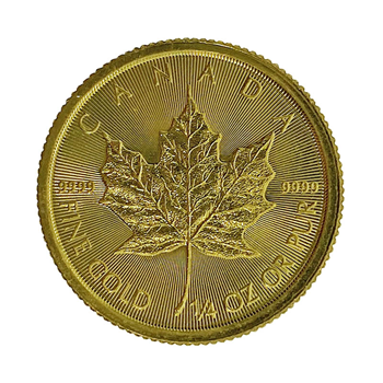 Quarter Oz Canadian Maple Gold Coin