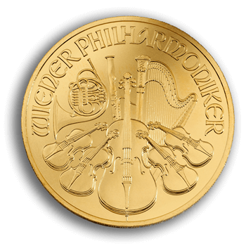 1oz Austrian Philharmonika Gold Coin