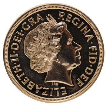 Gold Sovereign Five Pound