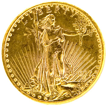 $20 Eagle St. Gaudens Lady Gold