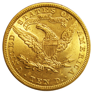 $10 Eagle Liberty Head Gold
