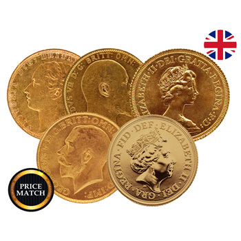 Best Value Gold Full Sovereign