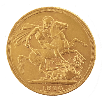 Gold Sovereign - Jubilee Victoria - 1890