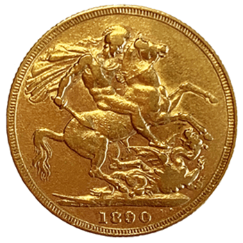 Gold Sovereign - Victoria Jubilee Head 1887-1893