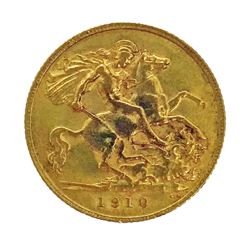 Half Sovereign - Edward VII 1910 London