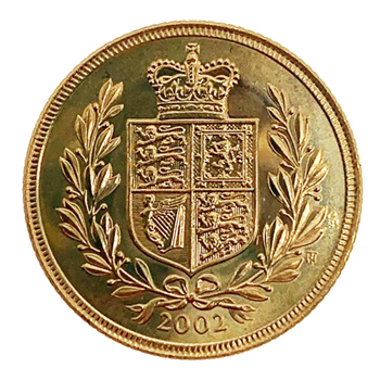 Gold Sovereign 2002