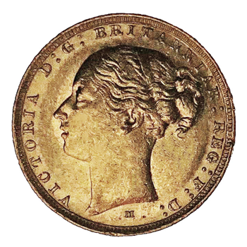 Gold Sovereign - Victoria Young Head 1886 - M