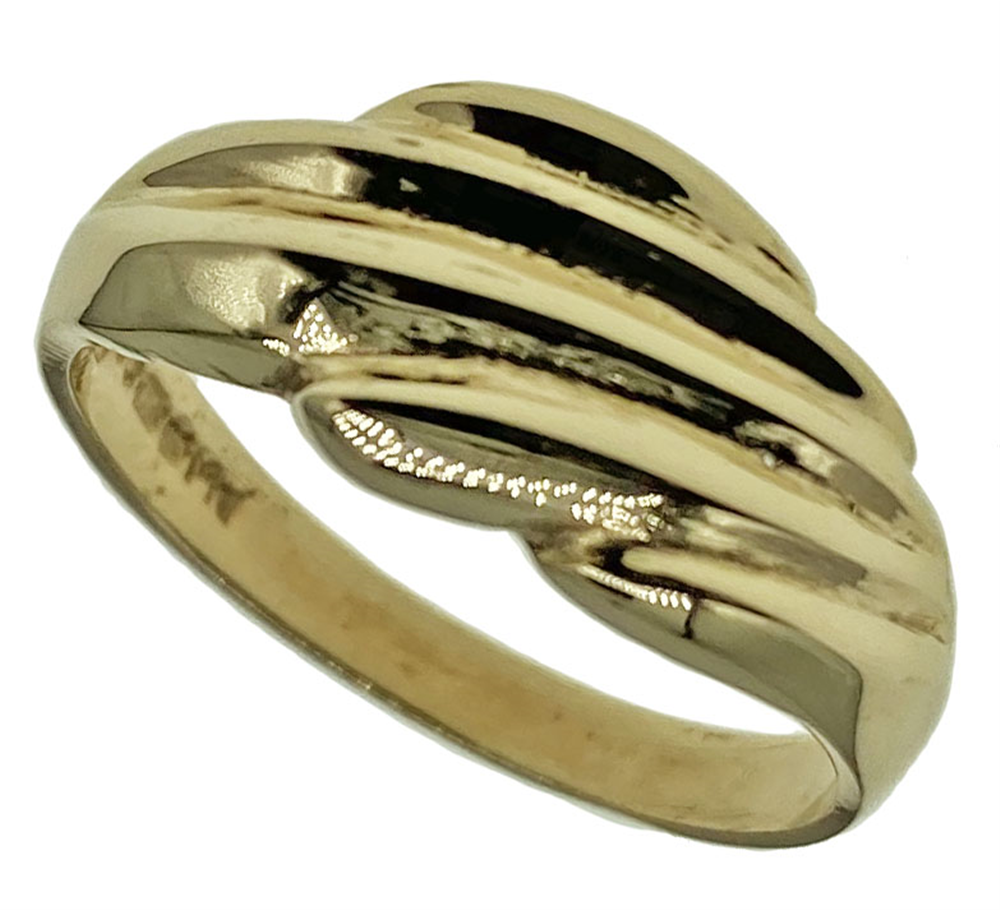 9ct Yellow Gold Ladies Fancy Ring