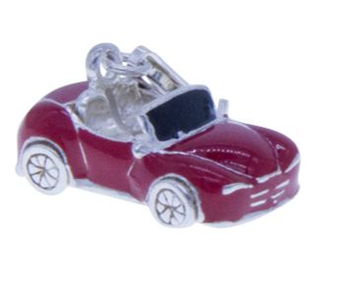 Sterling Silver 925 'Mini Sports' Car Charm