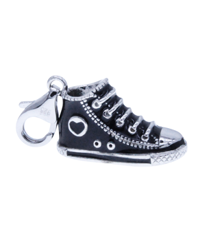 Sterling Silver 925 Converse Shoe Charm