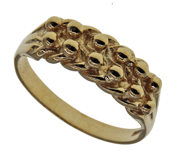 9ct  Keeper Ring